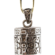 Sterling Silver Pendent | Locket | Box Charm