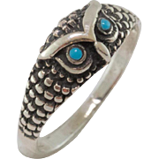 Sweet Sterling Silver | Owl Ring