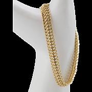 18K Yellow Gold   Chain Link Bracelet