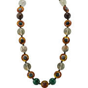 Large Pools of Light and Multi-Bead Necklace