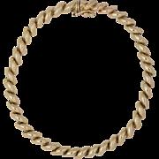 14K Yellow Gold | San Marco Bracelet 7-1/4 Inches