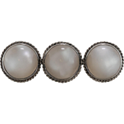Sterling Silver | Mother of Pearl Brooch