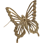 Sterling Silver | Nymph Butterfly Pin/Brooch