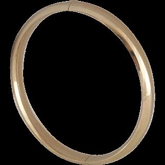 14K Yellow Gold   Classic Bangle/Bracelet