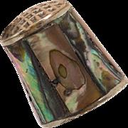 Abalone Thimble