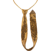 Vintage Mesh | Necktie Necklace
