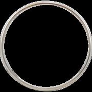 Sterling Silver | Single Bangle Bracelet