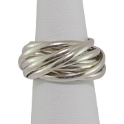 Sterling Silver   Multiple-Band Ring