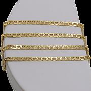 Italian | 14K Yellow Gold | 19-1/2 Inch Mariner Chain