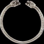 37 Grams | Sterling Silver | Gargoyle Bracelet