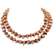 Les Bernard | Natural Conch Shell & Coral Necklace