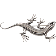 Handmade | Sterling Silver | Lizard Pin/Brooch