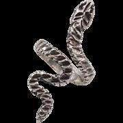 Sterling Silver   Handmade   Snake Ring