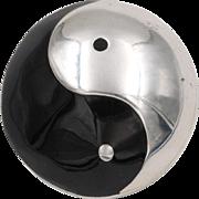 Sterling Silver | Yin Yang Pendant/Brooch