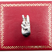 1960s Peace Ring | One-Of-A-Kind | Handmade | Sterling Silver