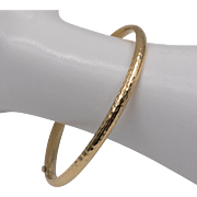 14K Yellow Gold | Classic Bangle/Bracelet