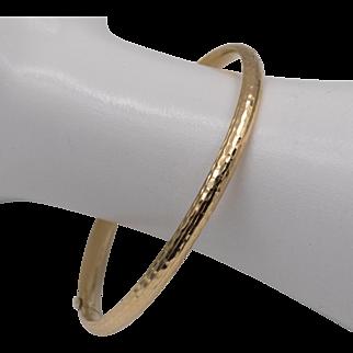 14K Yellow Gold | Classic Bangle/Bracelet