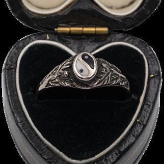 Vintage Sterling Silver | Yin Yang Ring