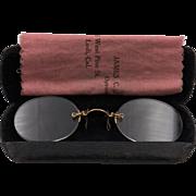 Selinger's 1930s | 14K GF Reading Spectacles | Unisex