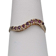 14K YG | Ruby Band/Ring | Size 7-1/4