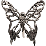 Hair Clip | Signed | John Hardy | Butterfly