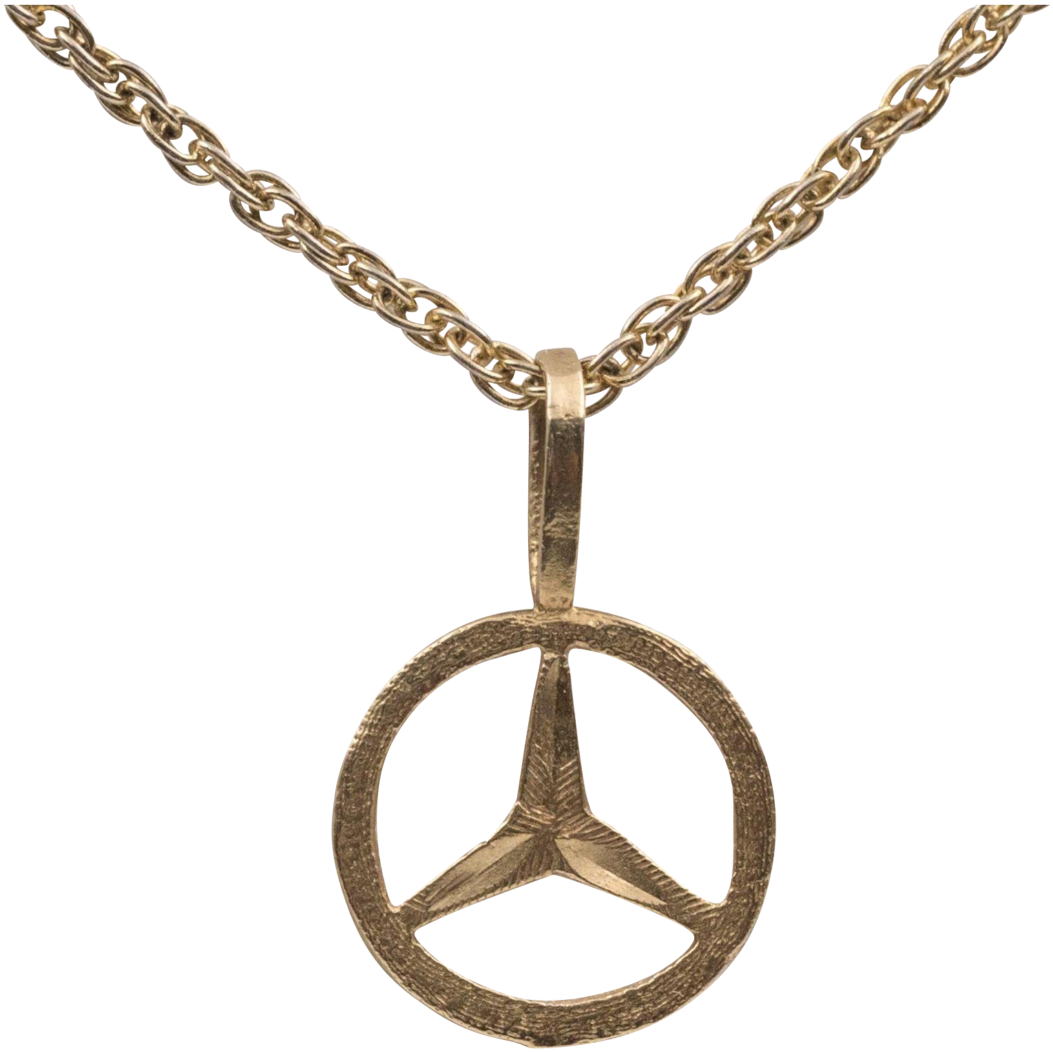 14k yg mercedes charm pendant from for 14k gold mercedes benz pendant