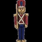 Vintage | Danecraft Toy Soldier | Holiday Pin