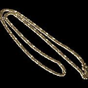 18-1/2 Inch | Figaro Chain | 10K YG