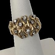 14K YG | Diamond Band/Ring 0.50CTW Size 6.5
