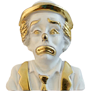 Wonderful Old Clown Brooch