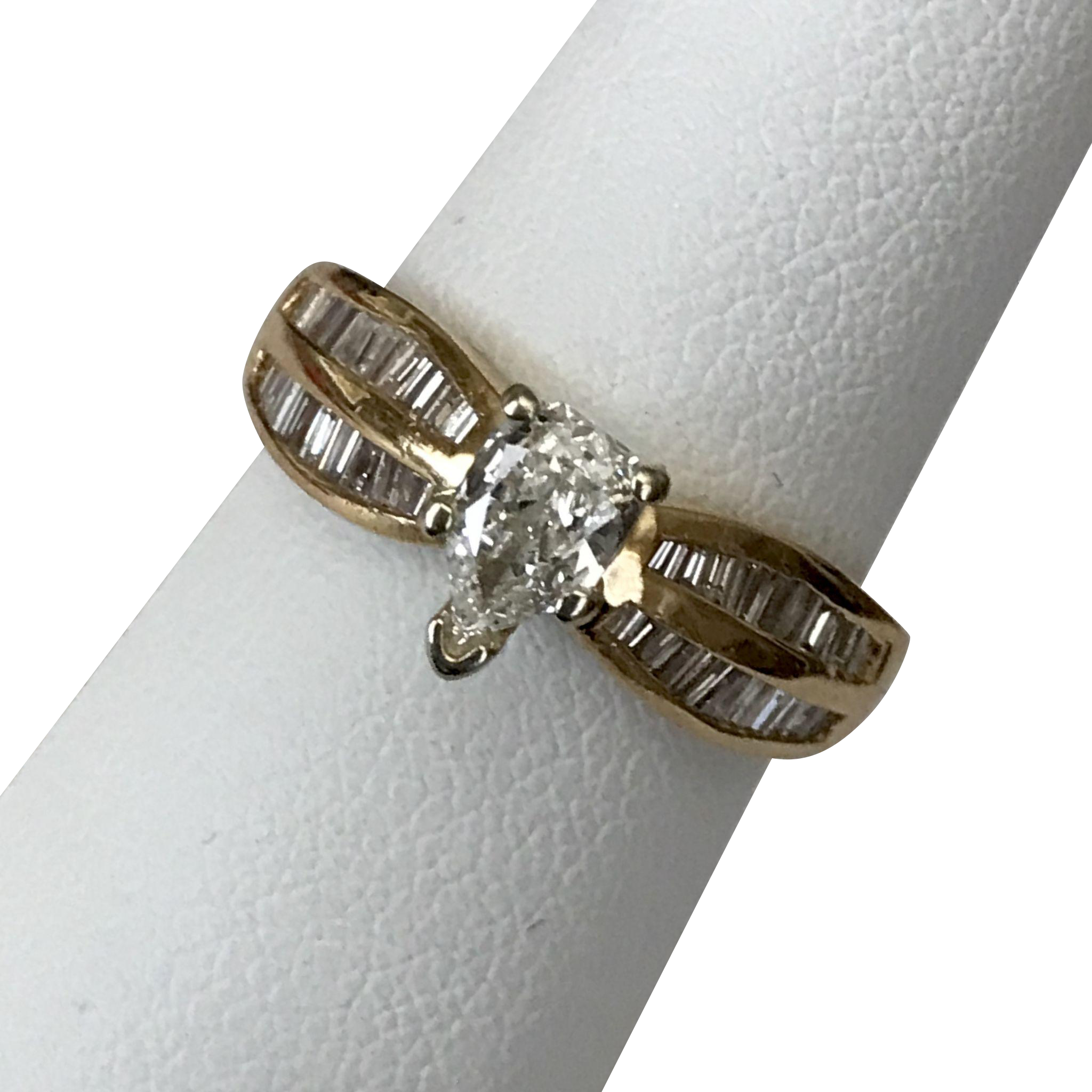 14 karat gold diamond ring 1 carat tw size 6 from. Black Bedroom Furniture Sets. Home Design Ideas