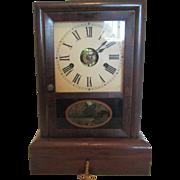 Seth Thomas 30 HR Alarm Cottage Case Clock