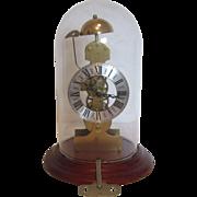 Kieninger Translucent Skeleton Bell Hour Strike Clock