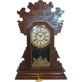 Sessions Braga Gingerbread Clock