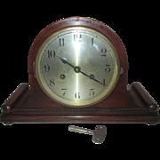 Antique August Schatz + Son Top Hat Mantle Clock