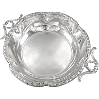 TETARD : Antique French Sterling Silver Louis XVI style Centerpiece Bowl / Dish
