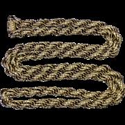 Antique Georgian Long Georgian Chain – 38 Inches – 88.2 Grams – Circa 1780