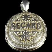 Victorian Regard Locket - 9ct Gold