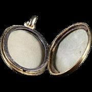 Victorian Gold Locket - Regal 18ct Circa 1900