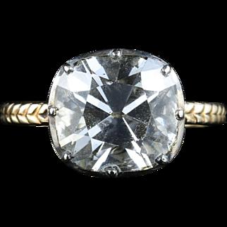 Antique Georgian Paste Ring - 7ct