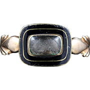 Antique Georgian Mourning Ring Engraved Margaret Mc Baen Died 1818