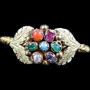 Antique Georgian Gem Stone Ring 18th Century Circa 1730 Respect