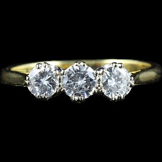 Diamond Ring Trilogy 18ct Gold