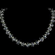 Antique Georgian Paste Collar Necklace Circa 1820