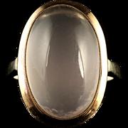 Antique Victorian Moonstone Gold Ring Circa 1900