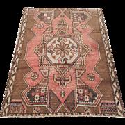 Antique Western Anatolian Rug 3'8 x 5'2
