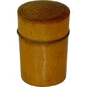 Antique Doctor Apothecary Treen Measure