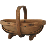 Miniature English Garden Trug Basket