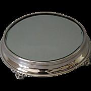 Silver Table Mirror Plateau