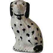 Antique Staffordshire Miniature Spaniel